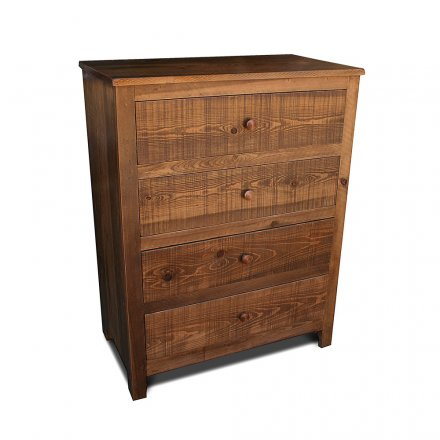 Rustic Shaker 4 Drawer Chest
