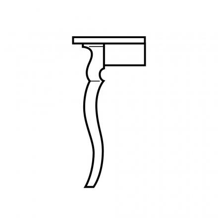 Sabre Table Leg
