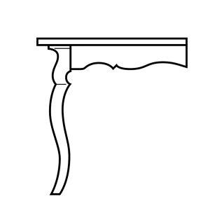 Sabre Table Skirt