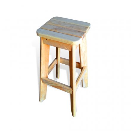 45 Degree Slatted Stool