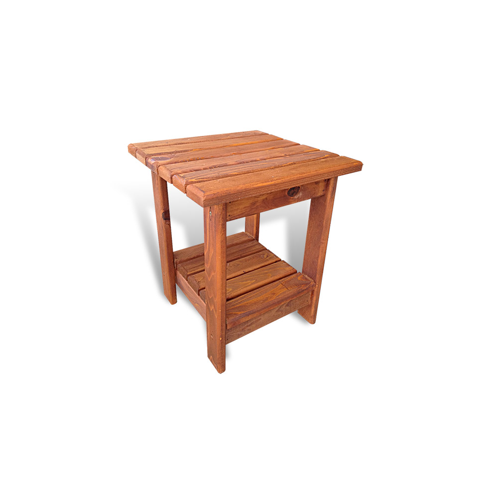 Small outdoor accent tables small outdoor end table for Small wood end table