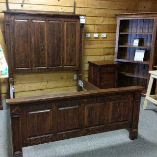 Rustic Empire Bed Queen @ UL Store UL-44  SOLD