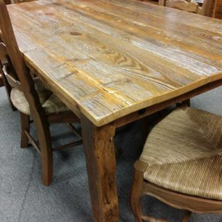 """64""""L Old Cypress Table @ UL Store UL-45 SOLD"""