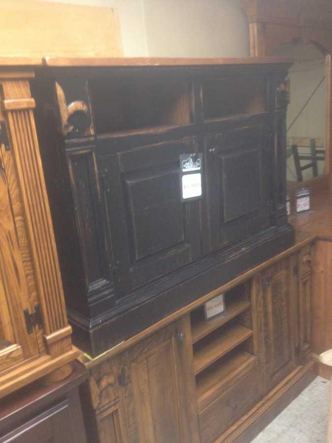 Fleur De Lis Tv Stand Pinhook Ph 37 Sold All Wood