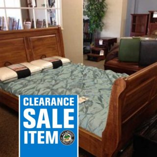 Sleigh Bed @ Baton Rouge BR-37 In Stock
