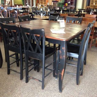5′ French Pub Table @ Baton Rouge BR-7 SOLD