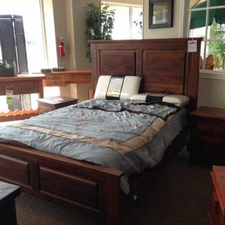 Cypress Tall Panel Bed @ Baton Rouge BR-28 SOLD