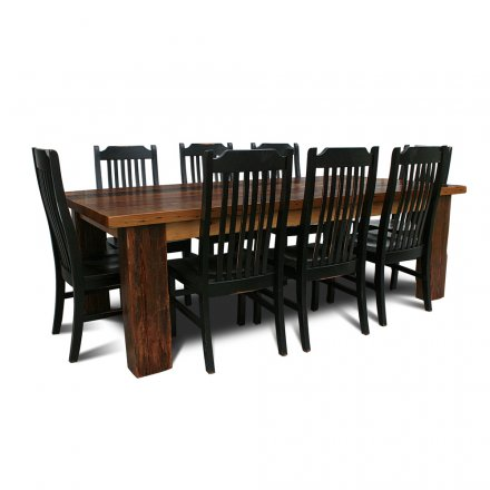 4 x 6 Beam Leg Table