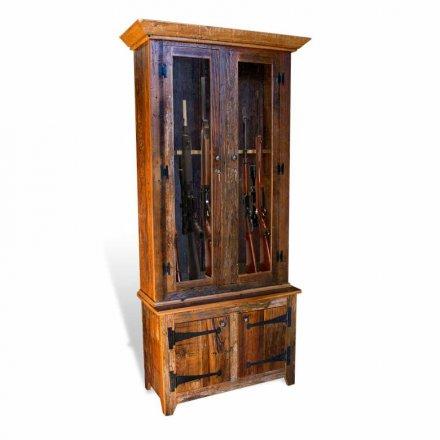 Barnwood Gun Cabinet