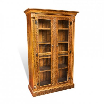 Rustic Empire Display Cabinet