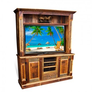 Barnwood Empire TV Cabinet