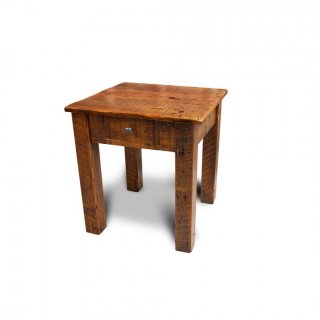 Barnwood End Table w/ Drawer