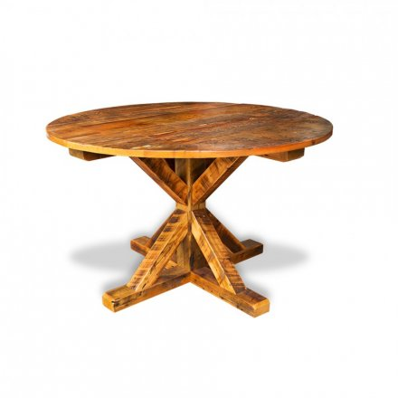 Barnwood Timber Round Table