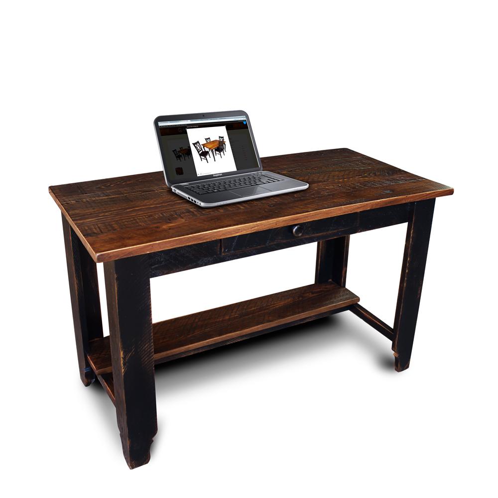 "All Wood Office Desk: Classique Desk 24"" No.2"