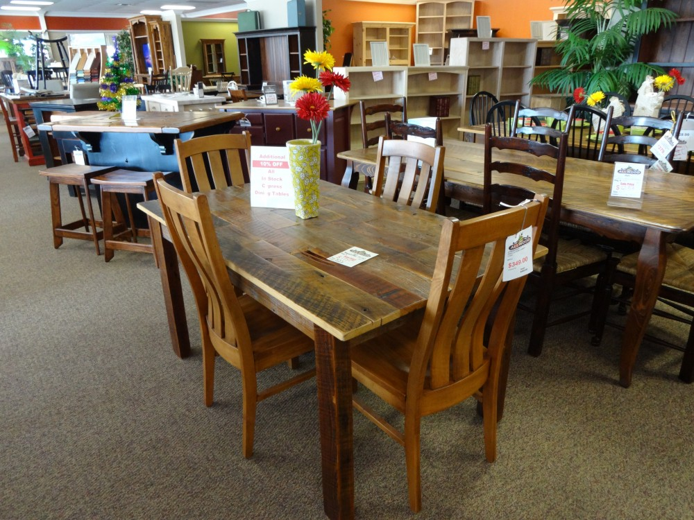 5 Barnwood Table Baton Rouge BR 27 In Stock ALL Wood