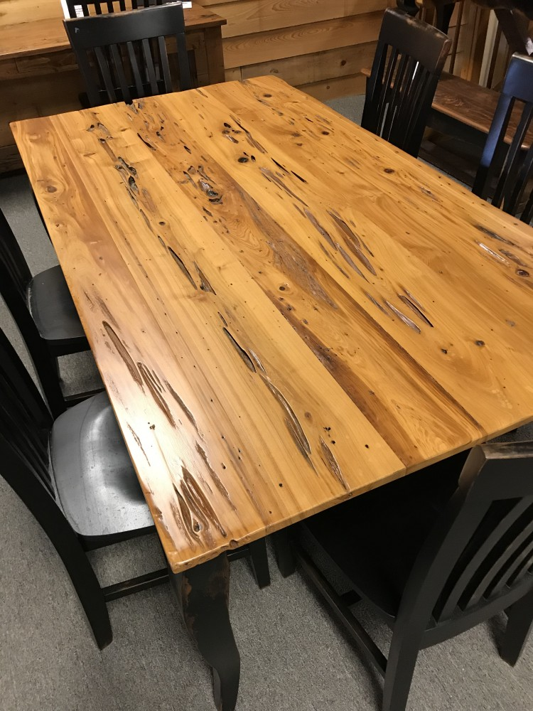 6 Old Pecky French Cypress Table Ul Store In Stock Ul