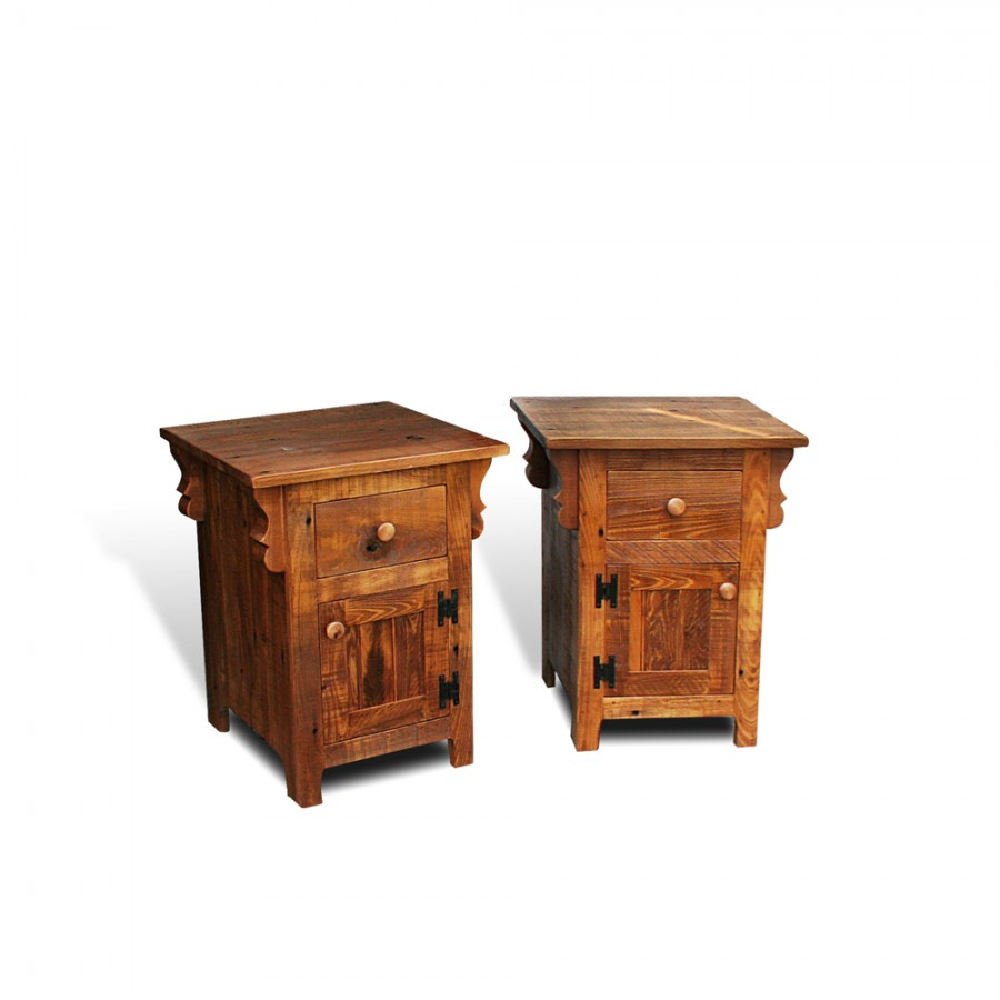 Rustic Shaker End Tables W Corbels