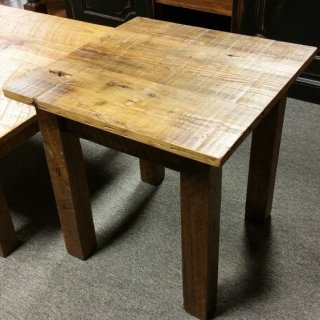 Barn Wood End Table @ UL Store UL-72 Sold