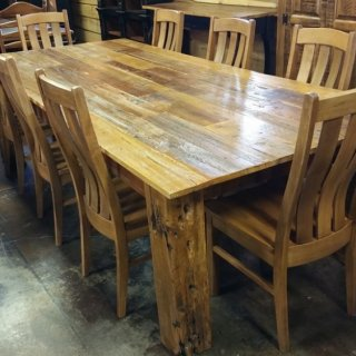 9'L Old Cypress Table @ UL Store UL-88  SOLD