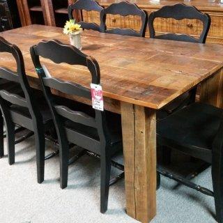 7′ Barnwood Table @ Pinhook PH-60 SOLD