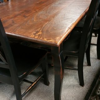 6′ Acadiana French Table @ Pinhook PH-65 SOLD
