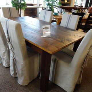 6′ Burnt Pine Barnwood Table @ Baton Rouge BR-44 SOLD