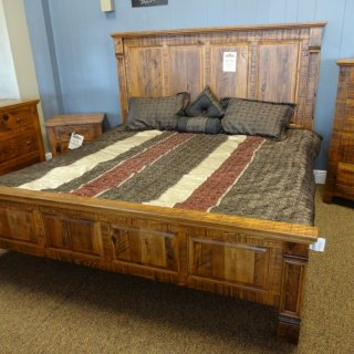 Rustic Empire Bed @ Baton Rouge BR-48 SOLD