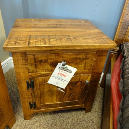 Rustic Shaker Night Stand @ Baton Rouge BR-50 In Stock
