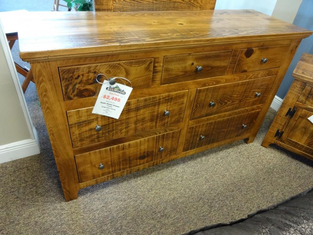 Rustic Shaker 7 Drawer Dresser Baton Rouge Br 51 Sold