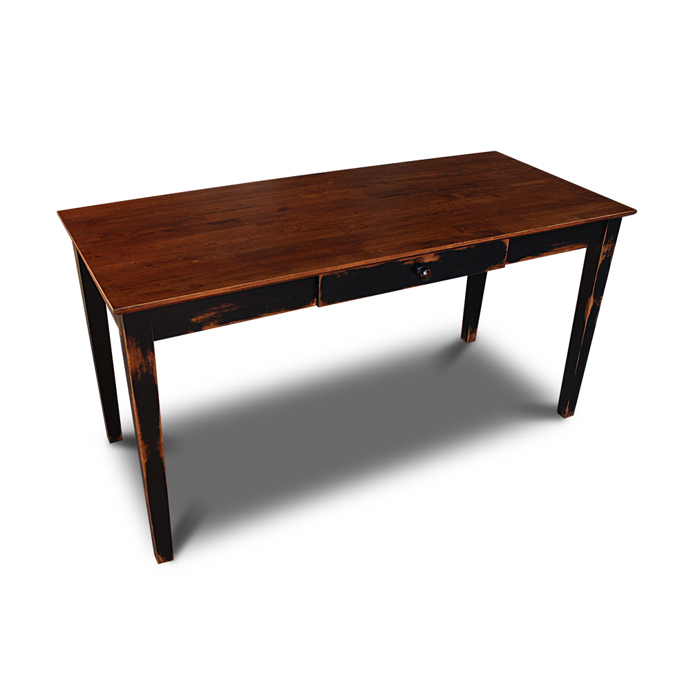 Hardwood writing desk
