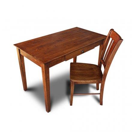 Hardwood Writing Table 4' No. 2