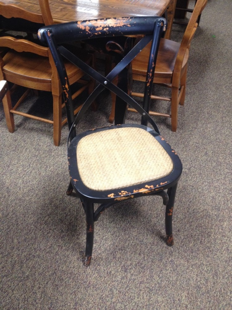 Small X Back Chair UL Store UL R07 SOLD ALL Wood Furniture