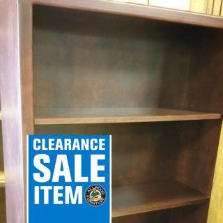 5′ Maple Bookcase @ UL Store In Stock UL-76