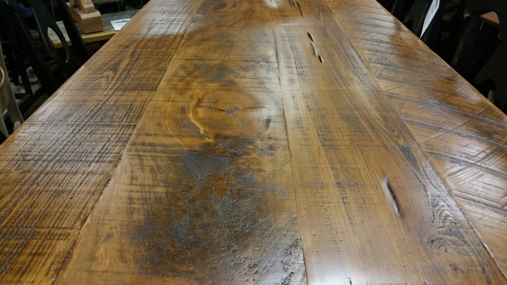 6 39 l french table ul store ul 99 sold all wood furniture for Cypress siding cost