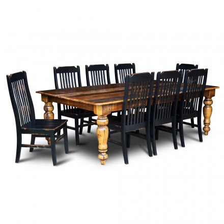 Barnwood Old World Table