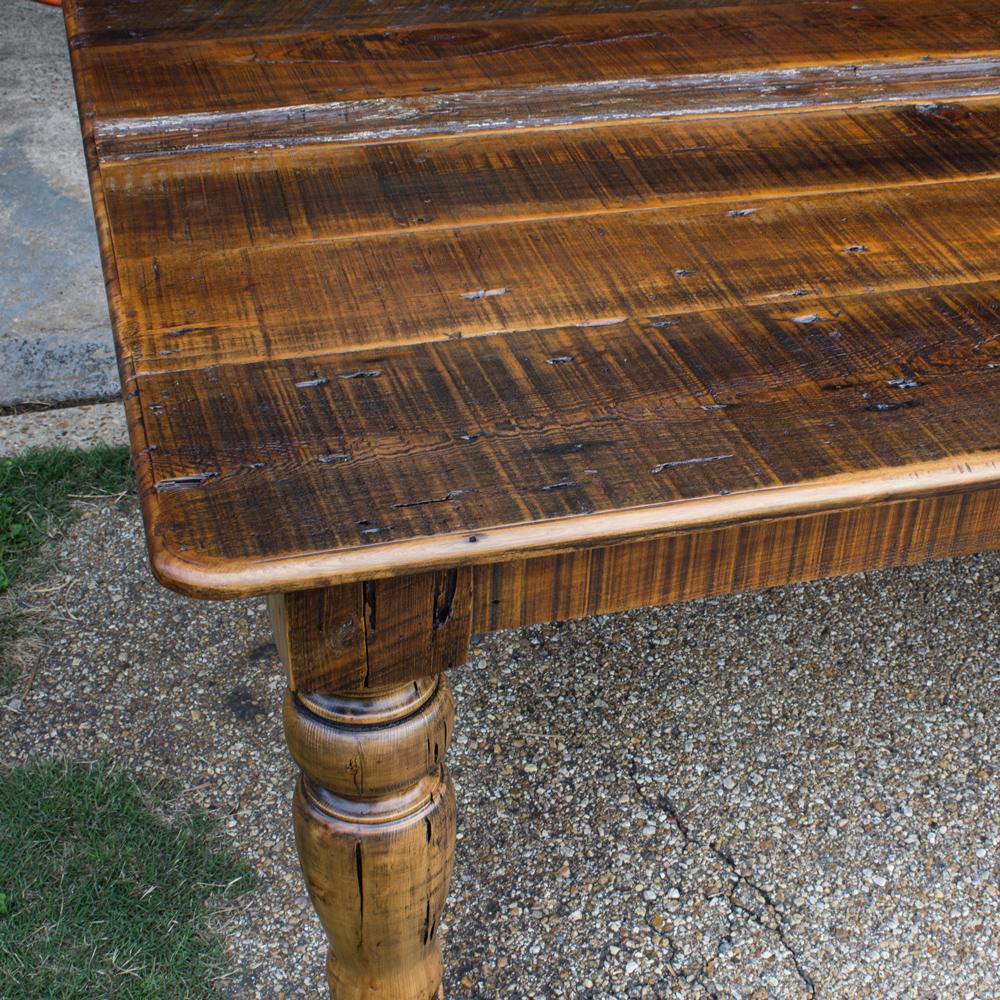 Old World Barnwood Table