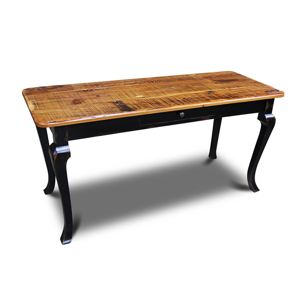 Cabriole Desk 24quot Wide No3 w Barnwood Top : Cabriole Desk 24 Wide No 3 from allwoodcompany.com size 1000 x 1000 jpeg 100kB