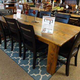 Cypress Block Leg Table @ Baton Rouge BR-56 SOLD