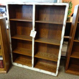 Contemporary Oak Bookcase @ Baton Rouge BR-60 SOLD