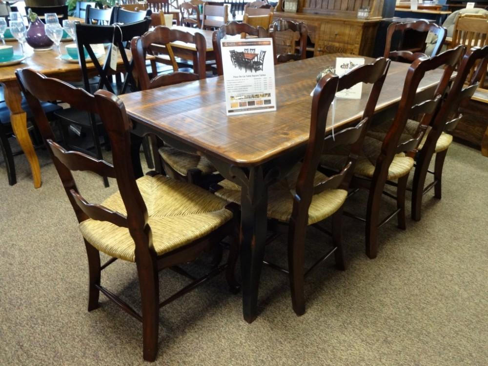 Fluer De Lis Table Baton Rouge Br 65 Sold All Wood