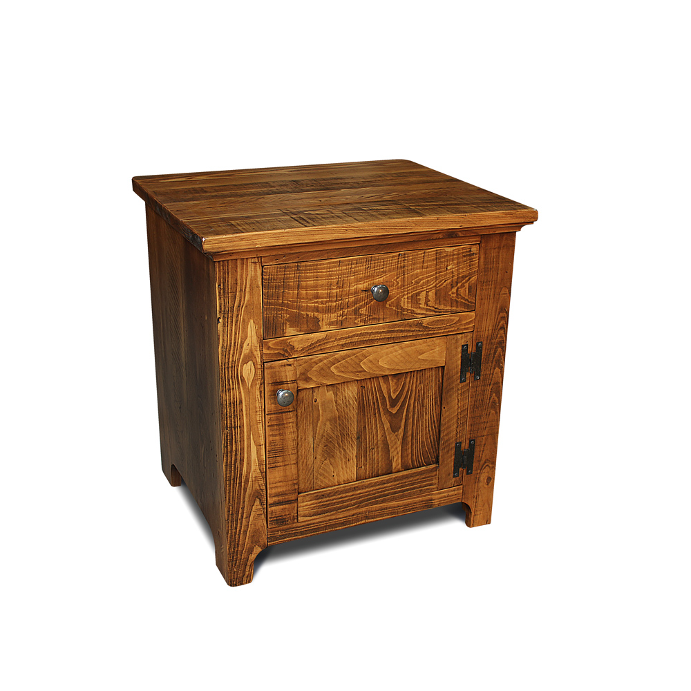 Rustic Shaker End Table Night Stand