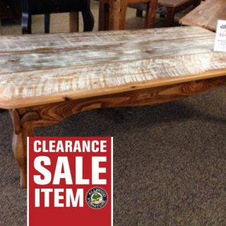 Fluer De Lis Coffee Table @ Baton Rouge BR-118 In Stock