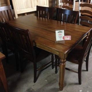 Turned Leg Table @ BR Store RTBR-34 Red Tag SOLD