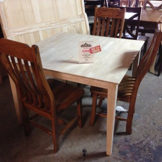 42″ Square Table @ BR Store RTBR-36 Red Tag SOLD