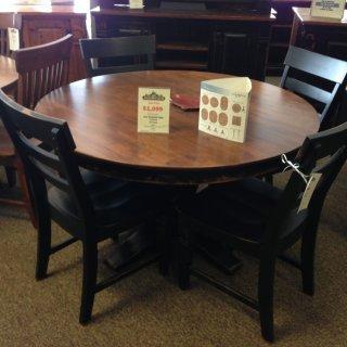 Java Pedestal Table @ Baton Rouge BR-117 SOLD