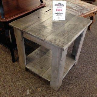 L-Shaped Cabin Leg End Table @ Baton Rouge BR-119 SOLD