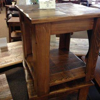 L Shaped Cabin Leg End Table @ Baton Rouge BR-121 SOLD