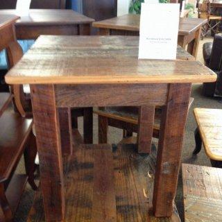 Barnwood End Table @ Baton Rouge BR-122 SOLD