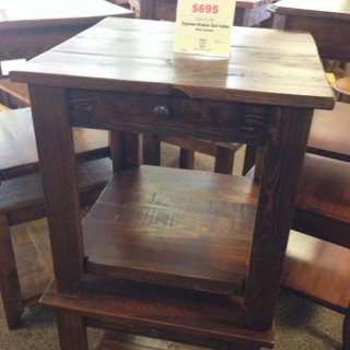 Cypress Shaker End Table @ Baton Rouge BR-124 In Stock