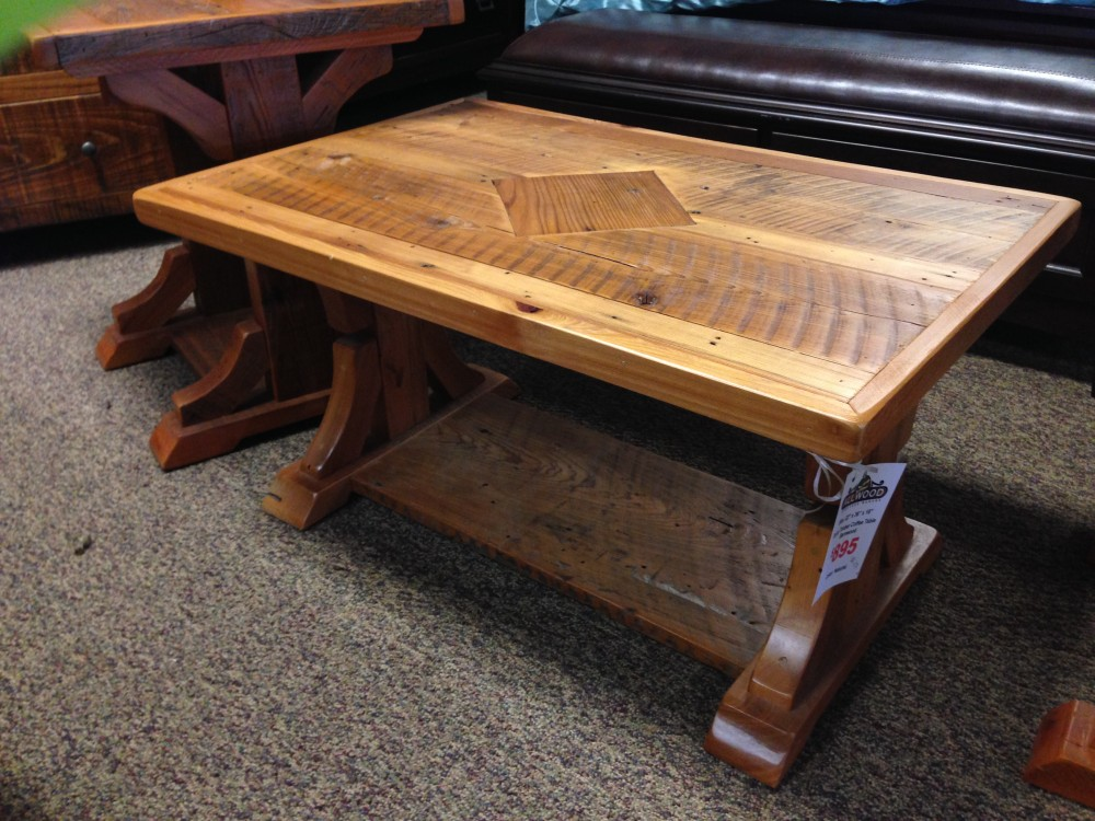 Cajun Coffee Table Pinhook Ph 127 In Stock All Wood